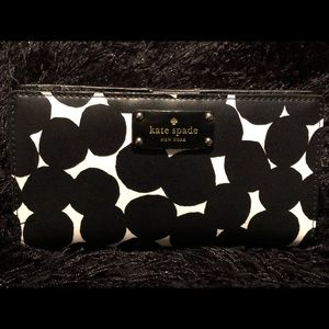 Kate Spade Stacy Grove Street Splodge Dot Wallet